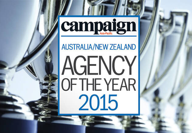 Affinity Shortlisted for Campaign Asia-Pacific Agency of the Year Awards