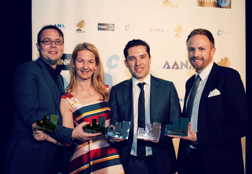 AFFINITY WINS FIVE KNUCKLE DUSTERS AT AUSTRALIAN EFFIE AWARDS