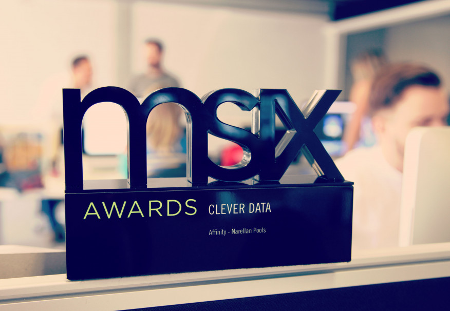 Affinity wins Clever Data award at MSiX