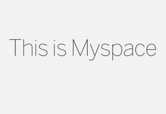 Myspace Relaunch