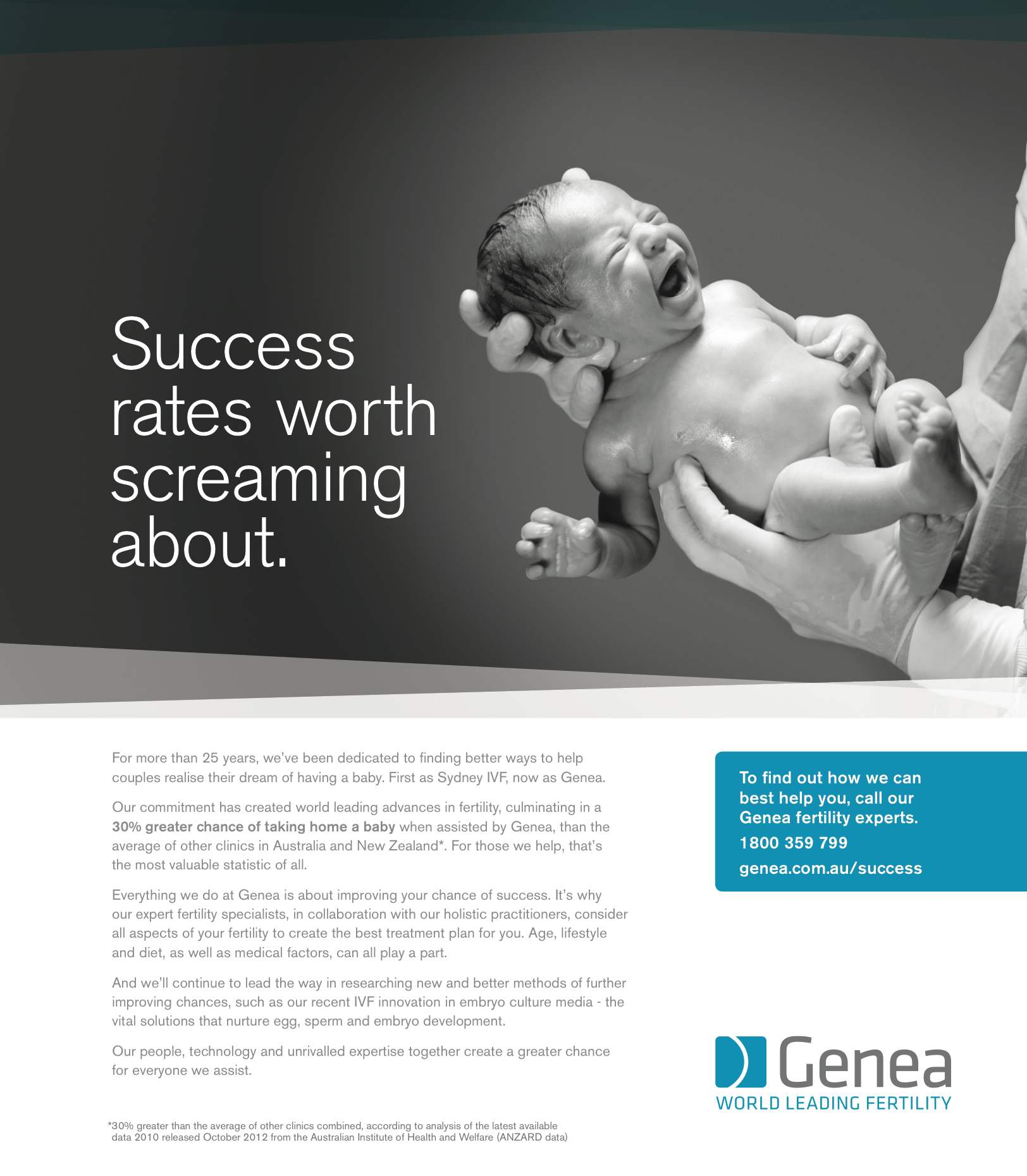 Genea - Success Worth Screaming About